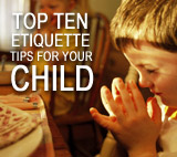 Etiquette Tips for your Children