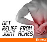 Get relief from joint aches