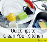 Home Kitchen Cleaning Tips